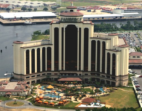 MCA installs audio visual and network cabling system for L'Auberge du Lac Casino Resort in Lake Charles, LA.