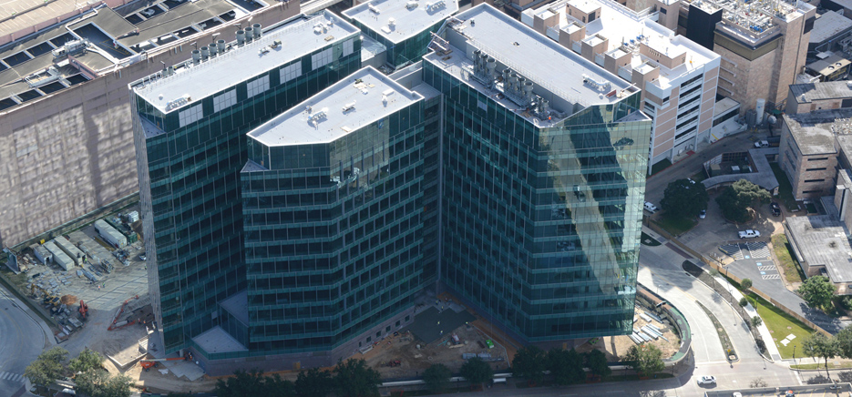 MCA installs network cabling system for MD Anderson's Zayed Building
